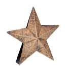 Metal star Zorka standing, D18cm, T below 4,5